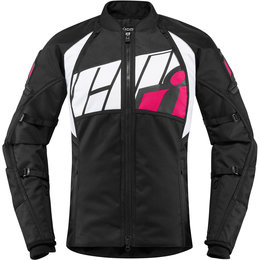 Icon Womens Automag 2 Textile Jacket Pink