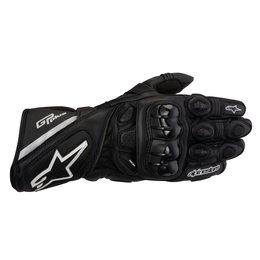 Black Alpinestars Gp Plus Leather Gloves 2012