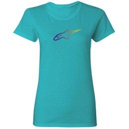 Alpinestars Womens Stella Ageless Gradient Crew Neck T-Shirt