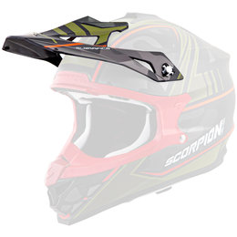 Scorpion VX-35 Miramar Replacement Visor Peak MX/Offroad Helmet Accessory Black