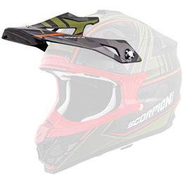 Scorpion VX-35 Miramar Replacement Visor Peak MX/Offroad Helmet Accessory Black