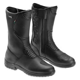 Gaerne Womens Black Rose Leather Gore-Tex Boots Black