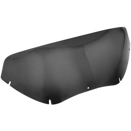 Black Wind Vest Batwing Screen 4 In For Harley Davidson Flh