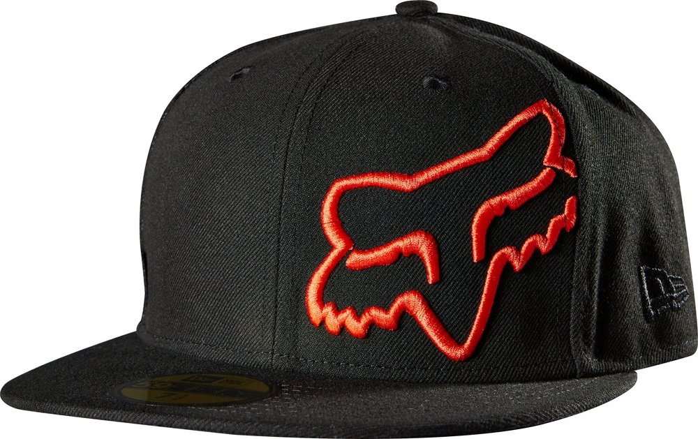 298f0db60f9 ... reduced fox racing mens thunderous new era 59fifty fitted hat black  96f25 3ab0f