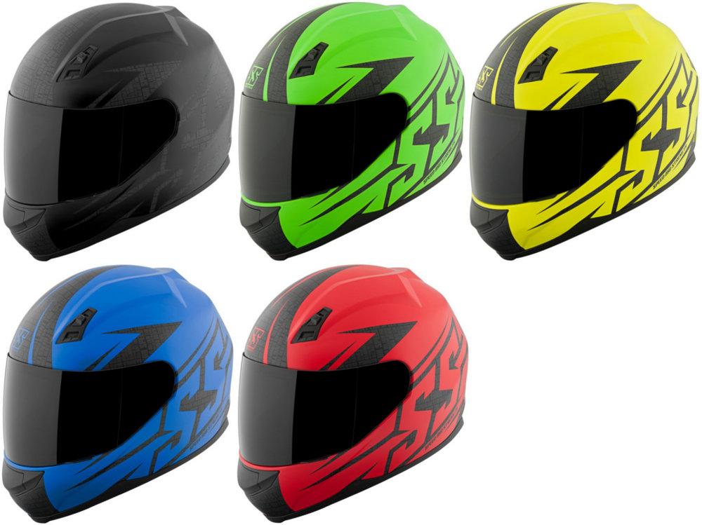 Speed /& Strength SS700 Hammer Down Full Face Helmet Matte Green