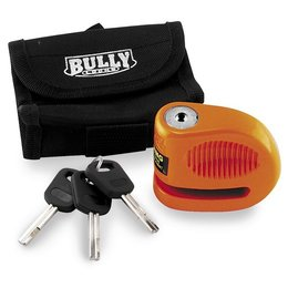 Orange Bully Locks 5.5mm Lil Bully Disc Lock Steel