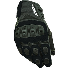 Black Fly Racing Mens Brawler Perforated Leather Gloves 2015