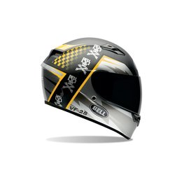 Bell Powersports Qualifier Airtrix Battle Full Face Helmet Black