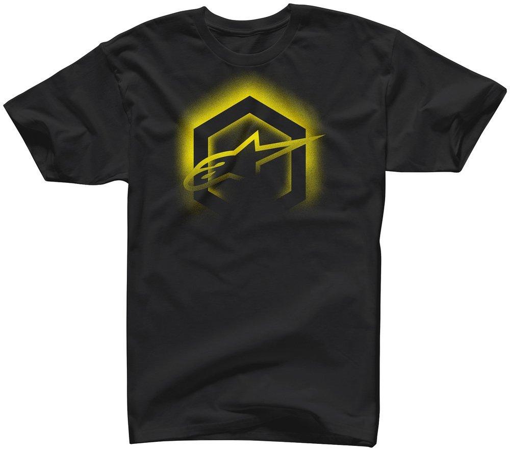 Alpinestars mens thermal t shirt 261003 for Mens black thermal t shirts