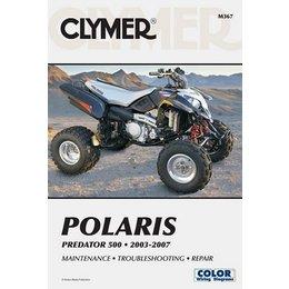 Clymer Repair Manual For Polaris ATV Predator 500 03-07