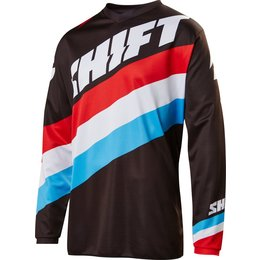 Shift Racing Mens Whit3 Label Tarmac Jersey Black