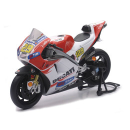 New Ray Toys 1:12 Scale Andrea Lannone Ducati Desmo 2015 Sport Bike Toy 57733 Red