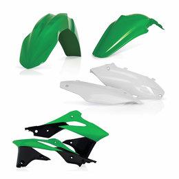 Acerbis Plastic Kit For Kawasaki KX250F 2016 Original 2314175135 Green