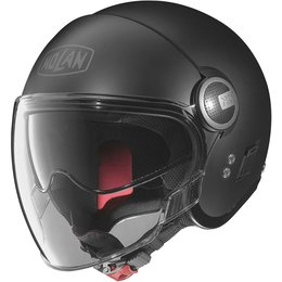 Nolan N21 Visor Open Face Helmet Black