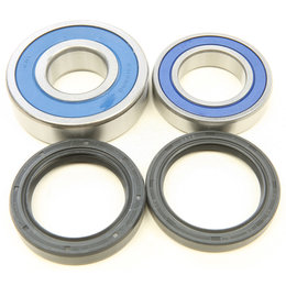All Balls Racing ATV Rear Wheel Bearing And Seal Kit Honda TRX420TM 25-1689 Unpainted