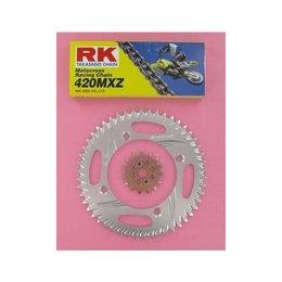 RK Chain/Sprocket Kit 420 MXZ For Kawasaki KX80 KX85