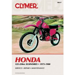 Clymer Repair Manual For Honda 125-200 Elsinore 1973-80