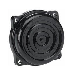 Biltwell CV Carburetor Cover Top Ripple Black For Harley-Davidson