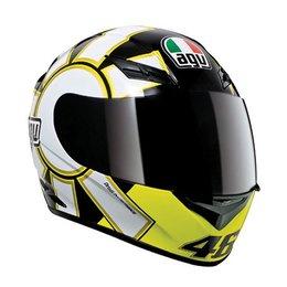 Gothic Black Agv K3 Rossi Gothic 46 Helmet Black