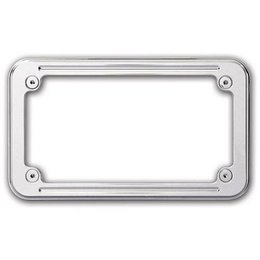 Pro-One Performance License Plate Frame Ball Milled For Harley Davidson