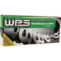 WPS 520 HSX Heavy Duty Sealed X-Ring Chain 120 Links Gold Universal