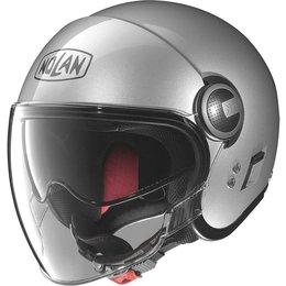 Nolan N21 Visor Open Face Helmet Silver