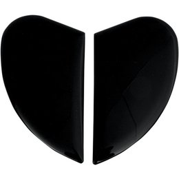 Black Icon Replacement Side Plate Kit For Airmada Full Face Helmet