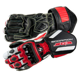 Red Scorpion Sg3 Leather Gloves