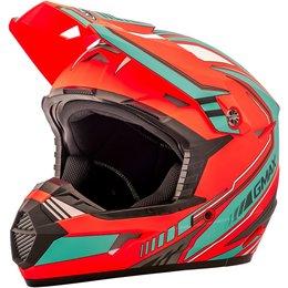 GMAX Youth MX46 Uncle Offroad Helmet Orange