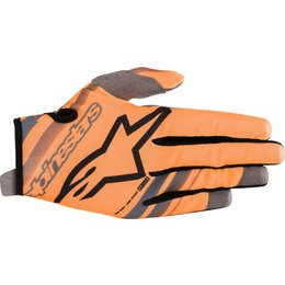 Alpinestars Youth Boys Radar Gloves Orange