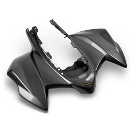 White Carbon Fiber-look Maier Rear Fender 1pc White Polypropylene For Kawasaki Kfx-450r 08-09