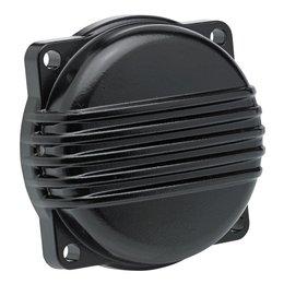 Biltwell CV Carburetor Cover Top Finned Black For Harley-Davidson