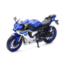 New Ray Toys 1:12 Scale Yamaha YZF-R1 2016 Sport Bike Toy Blue 57803 Blue