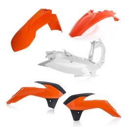 Acerbis Plastic Kit For KTM EXC EXC-F XCF-W XC-W 2016 Orange 2374135226 Orange