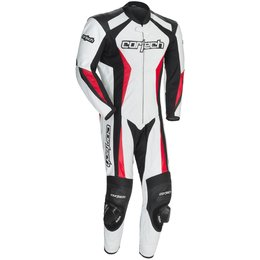 Cortech Mens Latigo 2.0 Leather RR One Piece Suit White
