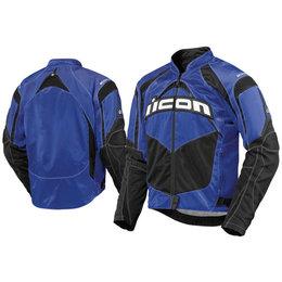Blue Icon Contra Textile Jacket
