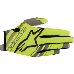 Alpinestars Youth Boys Radar Gloves Yellow