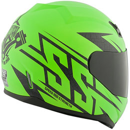 Speed & Strength SS700 Hammer Down Full Face Helmet Green