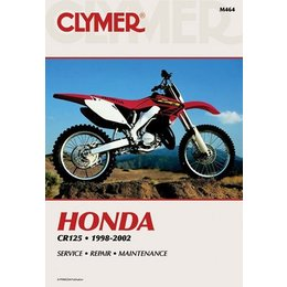 Clymer Repair Manual For Honda CR125R CR-125R 98-02
