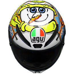 AGV Limited Edition Pista GP Rossi Snowman Winter Test 2016 Full Face Helmet Multicolored