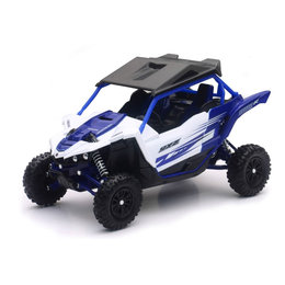 New Ray Toys 1:18 Scale Yamaha YXZ1000R ATV Toy Blue 57813A Blue