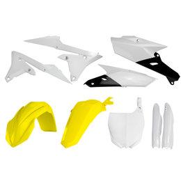 Acerbis Plastic Kit For Yamaha YZ250R YZ450R 2014-2017 Yellow 2374181070 Yellow