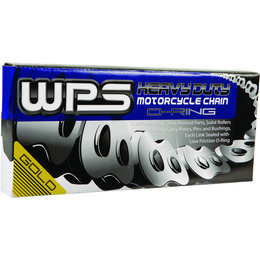 WPS 520 HSO Heavy Duty Sealed O-Ring Chain 120 Links Gold Universal