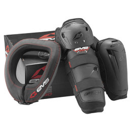 EVS Adult Slam Combo Protection Package Black