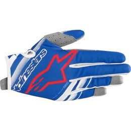 Alpinestars Youth Boys Radar Gloves Blue