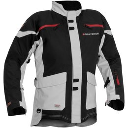 Black, Silver Firstgear Mens Tpg Rainier Textile Jacket 2014 Black Silver