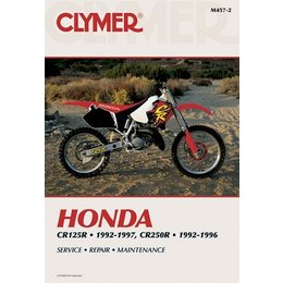 Clymer Repair Manual For Honda CR125R CR250R 92-97