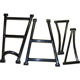 Black Diamond Lite Weight Chrome Moly 40IN Snow A-Arm Kit For Arctic Cat 20017-F Black