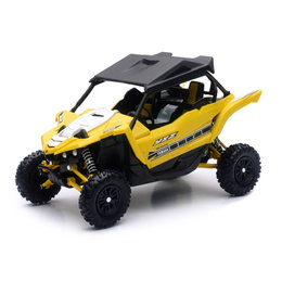 New Ray Toys 1:18 Scale Yamaha YXZ1000R ATV Toy Yellow 57813B Yellow