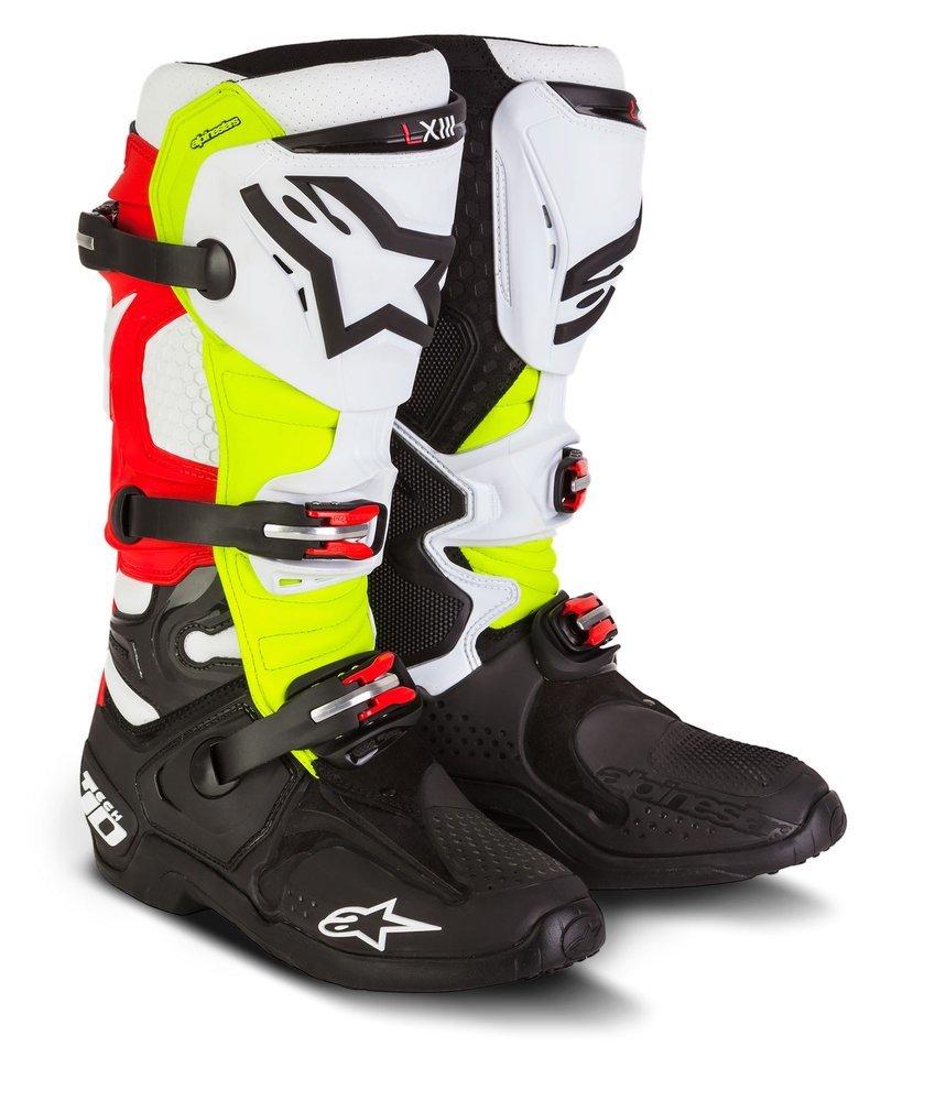 Motorcycle Riding Boots >> $599.95 Alpinestars Mens Special Edition Tech 10 Trey #203394